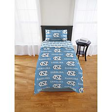 Officially Licensed NCAA Twin Bed in a Bag Set - UNC Tar Heels