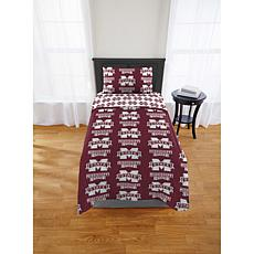 Officially Licensed NCAA Twin Bed Set - Mississippi State Bulldogs