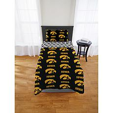 Officially Licensed NCAA Twin XL Bed in a Bag Set - Iowa Hawkeyes