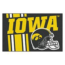 Officially Licensed NCAA Uniform Rug - University of Iowa