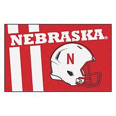 Officially Licensed NCAA Uniform Rug - University of Nebraska