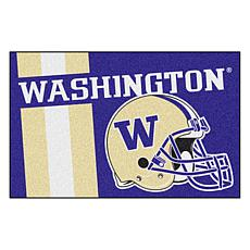 Officially Licensed NCAA Uniform Rug - University of Washington