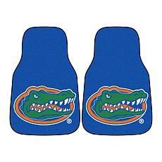 Officially Licensed NCAA University of Florida Carpet Car Mat 2-Pc Set