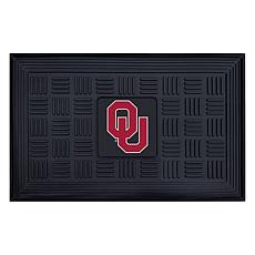 Officially Licensed NCAA University of Oklahoma Heavy Duty Door Mat