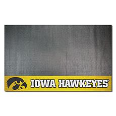 Officially Licensed NCAA Vinyl Grill Mat - University of Iowa