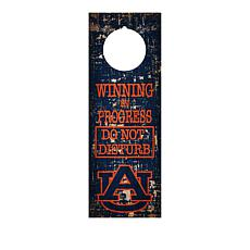 Officially Licensed NCAA Wood Door Hanger