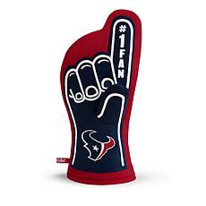 Officially Licensed NFL #1 Fan Oven Mitt - Houston Texans