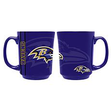 Officially Licensed NFL 11 oz. Reflective Mug - Baltimore Ravens