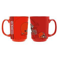 Officially Licensed NFL 11 oz. Reflective Mug - Cleveland Browns