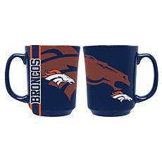 Officially Licensed NFL 11 oz. Reflective Mug - Denver Broncos