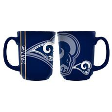 Officially Licensed NFL 11 oz. Reflective Mug - Los Angeles Rams