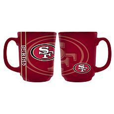 Officially Licensed NFL 11 oz. Reflective Mug - San Francisco 49ers