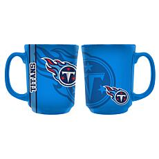 Officially Licensed NFL 11 oz. Reflective Mug - Tennessee Titans