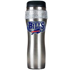 Officially Licensed NFL 14 oz. Travel Tumbler - Buffalo