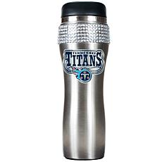 Officially Licensed NFL 14 oz. Travel Tumbler - Titans