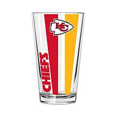 Officially Licensed NFL 16 oz. Vertical Decal Pint - Chiefs