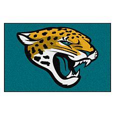 "Officially Licensed NFL 19"" x 30"" Logo Starter Mat - Jaguars"