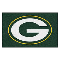 """Officially Licensed NFL 19"""" x 30"""" Rug - Green Bay Packers"""