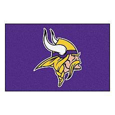 """Officially Licensed NFL 19"""" x 30"""" Rug - Minnesota Vikings"""