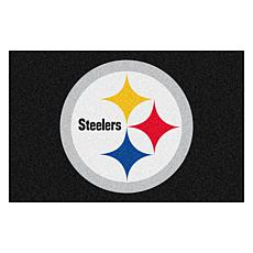 """Officially Licensed NFL 19"""" x 30"""" Rug - Pittsburgh Steelers"""