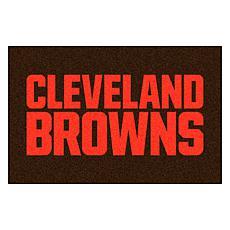 "Officially Licensed NFL 19"" x 30"" Starter Mat - Cleveland Browns"