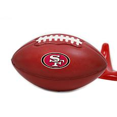 Officially Licensed NFL 2-pack Stress Football - San Francisco 49ers