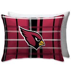 """Officially Licensed NFL 20"""" x 26"""" Plush Bed Pillow - Arizona Cardinals"""