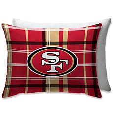 """Officially Licensed NFL 20"""" x 26"""" Plush Bed Pillow-San Francisco 49ers"""