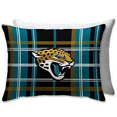 "Officially Licensed NFL 20""x26"" Plush Bed Pillow-Jacksonville Jaguars"