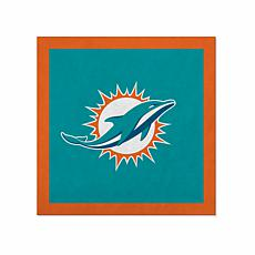 """Officially Licensed NFL 23"""" Felt Wall Banner - Miami Dolphins"""