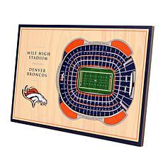 Officially Licensed NFL 3-D Desktop Display - Denver Broncos