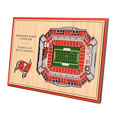 Officially Licensed NFL 3-D Desktop Display - Tampa Bay Buccaneers