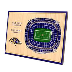 Officially-Licensed NFL 3-D StadiumViews Display - Baltimore Ravens