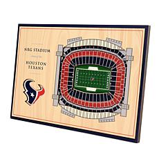Officially-Licensed NFL 3-D StadiumViews Display - Houston Texans