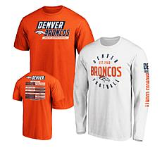 size 40 e1830 50a45 Officially Licensed NFL 3-in-1 T-Shirt Combo by Fanatics