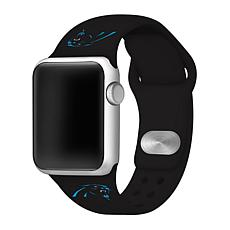 Officially Licensed NFL 38/40mm Apple Watch Band - Carolina Panthers