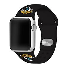Officially Licensed NFL 38/40mm Apple Watch Band- Jacksonville Jagu...