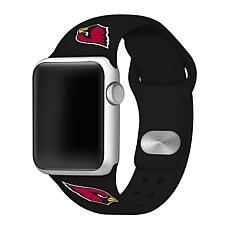 Officially Licensed NFL 38mm/40mm Apple Watch Sport Band - Cardinals