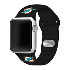 Officially Licensed NFL 38mm/40mm Apple Watch Sport Band - Dolphins