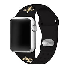 Officially Licensed NFL 38mm/40mm Apple Watch Sport Band - Saints