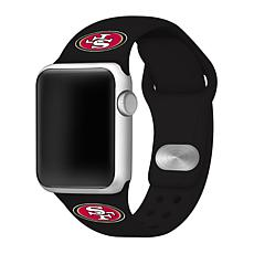 Officially Licensed NFL 38mm/40mm Apple Watch Sport Band - 49ers