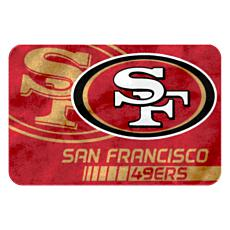 "Officially Licensed NFL 39"" x 59"" Raschel Rug"