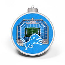 Officially Licensed NFL 3D StadiumView Ornament 2-pack - Detroit