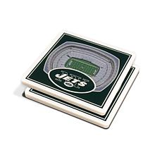 948419296 Officially Licensed NFL 3D StadiumViews Coasters - New York Jets ...
