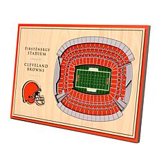 Officially Licensed NFL  3D StadiumViews Desktop Display - Cleveland