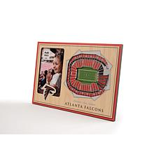 Officially Licensed NFL 3D StadiumViews Picture Frame - Falcons