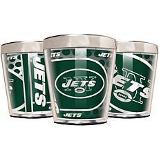 Officially Licensed NFL 3pc Shot Glass Set - Jets