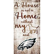 4b5284e51 Officially Licensed NFL A House is Not a Home Sign