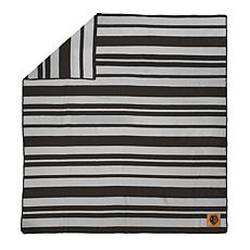 Officially Licensed NFL Acrylic Stripe Throw Blanket-Baltimore Ravens