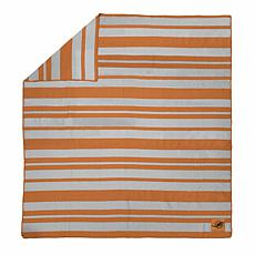 Officially Licensed NFL Acrylic Stripe Throw Blanket - Miami Dolphins
